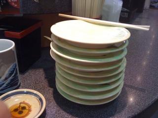 しばらくさよなら回転寿司