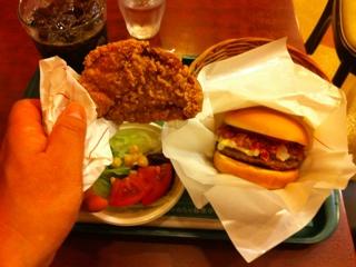 モスの食べるラー油バーガー