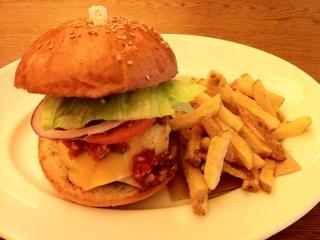 バビーズ横浜のハンバーガー