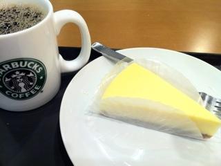 スタバのNYチーズケーキ