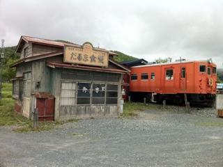 幌舞駅? いえ、幾寅駅