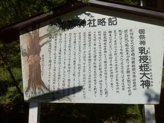 北海道浦幌町の乳神神社