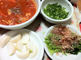 鎌倉野菜で夕食